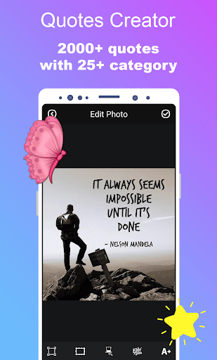 Quotes Creator – Quotes Maker amp Quotes On Photo 1.0.8 screenshots 2