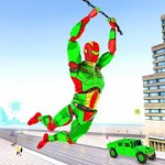 Army Robot Rope hero – Army robot games 2.1