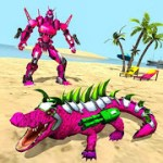 Real Robot Crocodile Simulator- Robot transform 1.0.6