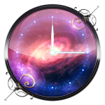 Download 3D Galaxy Analog Clock 7.4.2 APK For Android