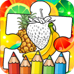 Download Fruits Coloring Book & Puzzle 1.2.0 APK For Android