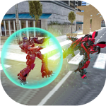 Download Robot Car Transformation: Real robot war game 1.2 APK For Android