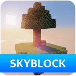 Download Skyblock Survival Map for Minecraft PE 1.0.7 APK For Android