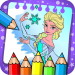 Download frozenne coloring elssa princesses and alnna 1.0.0 APK For Android