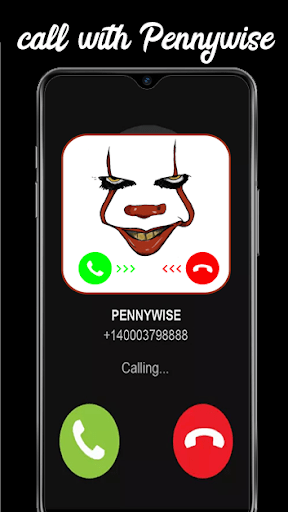 Fake Call With Pennywise And Videos Chat Clown2020 1.4 screenshots 2