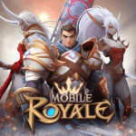 mobile royale mmorpg build a strategy for battle