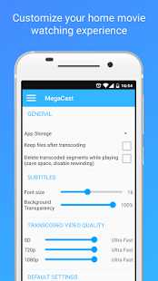 MegaCast – Chromecast player 2