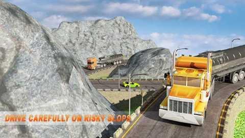 Offroad Oil Tanker Cargo Games 3