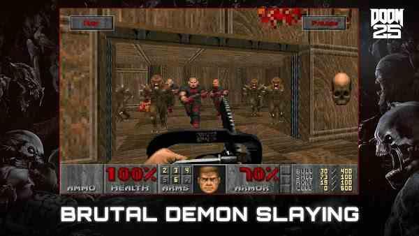 DOOM Demon slaying