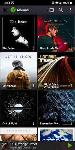 PlayerPro Music Player Screenshot-image