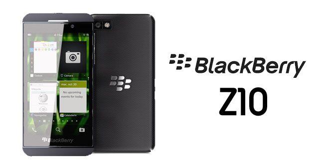 BlackBerry-Z10 Logo