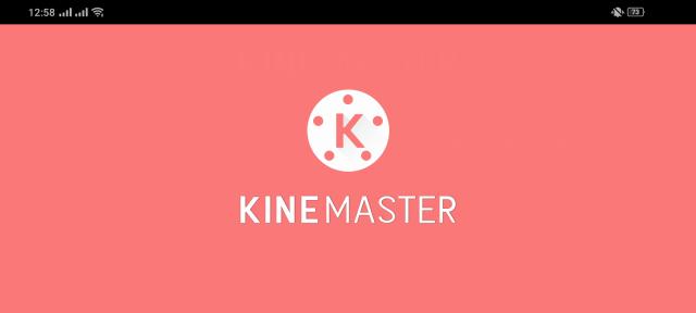 Screenshot of Blue Kinemaster