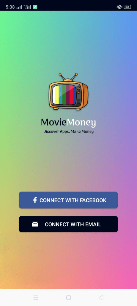 Screenshot of Movie Money