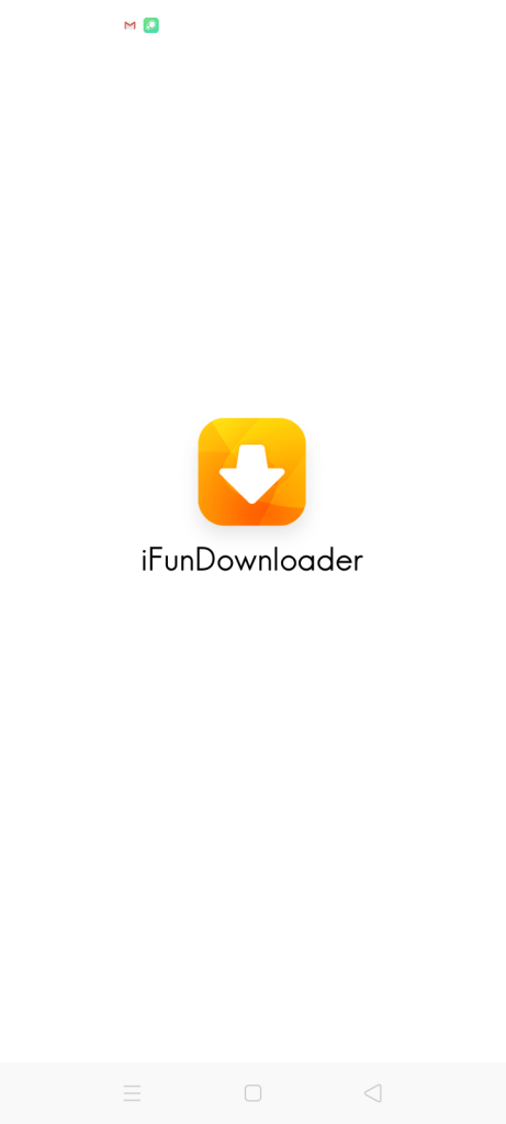 Screenshot of iFun Downloader