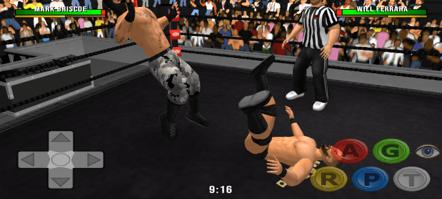 Screenshot of wr3d 2k20 Game