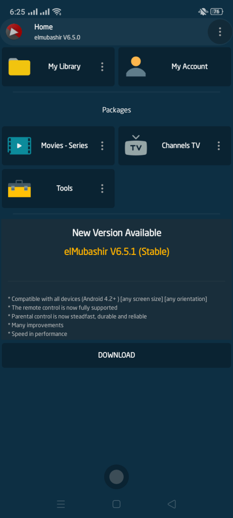 Screenshot of elMubashir v6 Apk