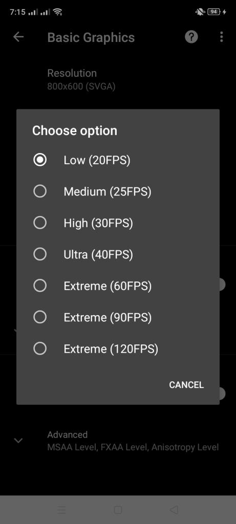 Screenshot of PGT Pro Graphics Toolkit App