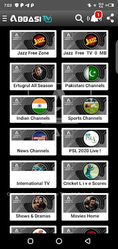 Screenshot of Abbasi TV Apk