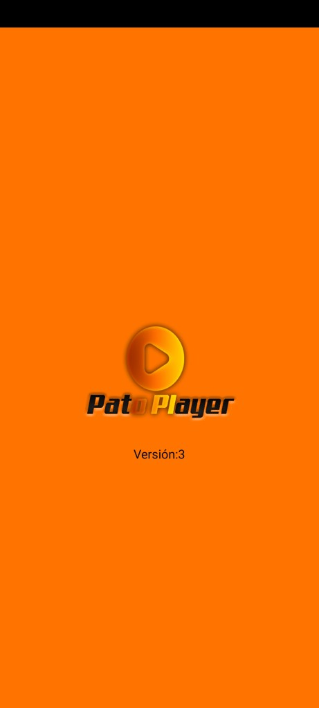 Screenshot of PatoPlayer