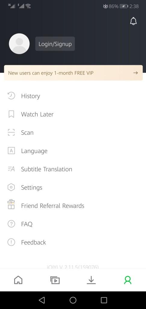 Screenshot-of-IQIYI-Mod-App