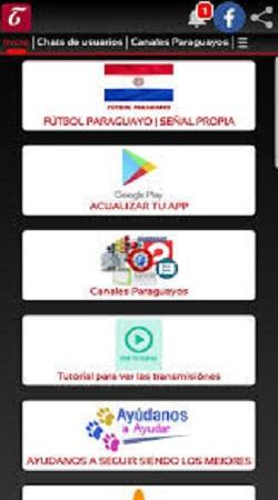 Screenshot-of-FUTBOL-PARAGUAYO-Apk