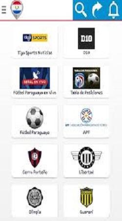 Screenshot-of-FUTBOL-PARAGUAYO-App