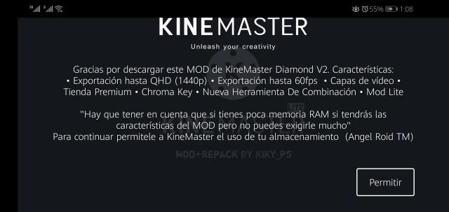 Screenshot of Kinemaster Diamond Apk