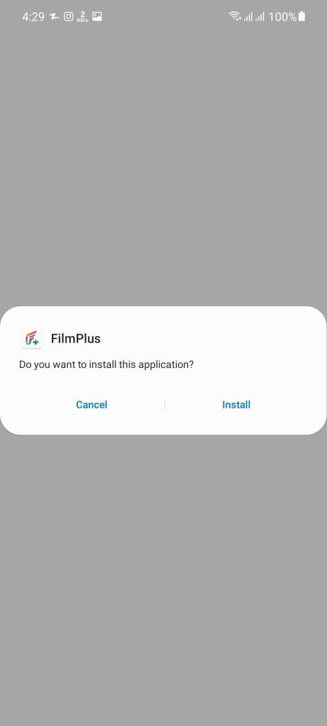 Screenshot of Film Plus Apk