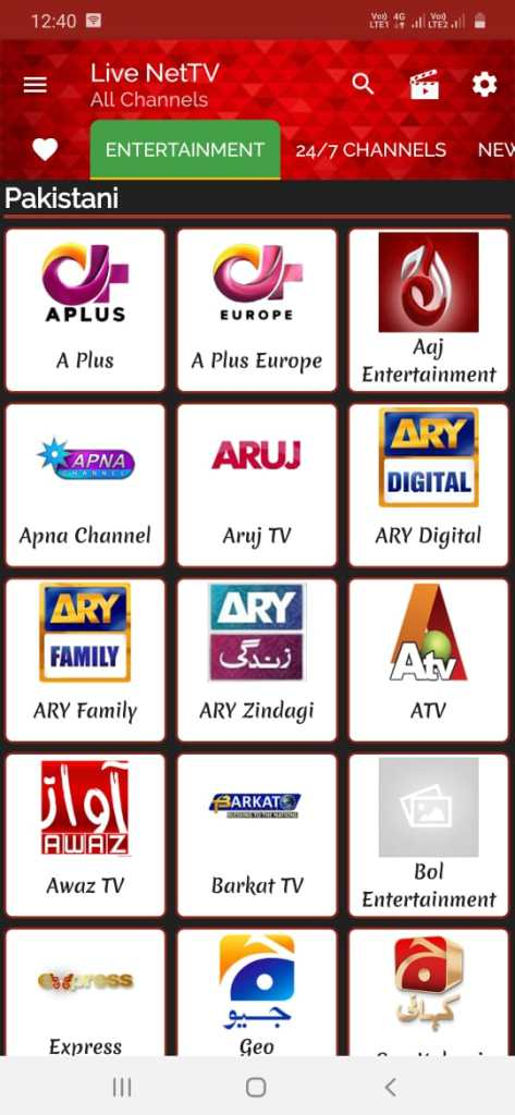 Live Net TV apk 2020