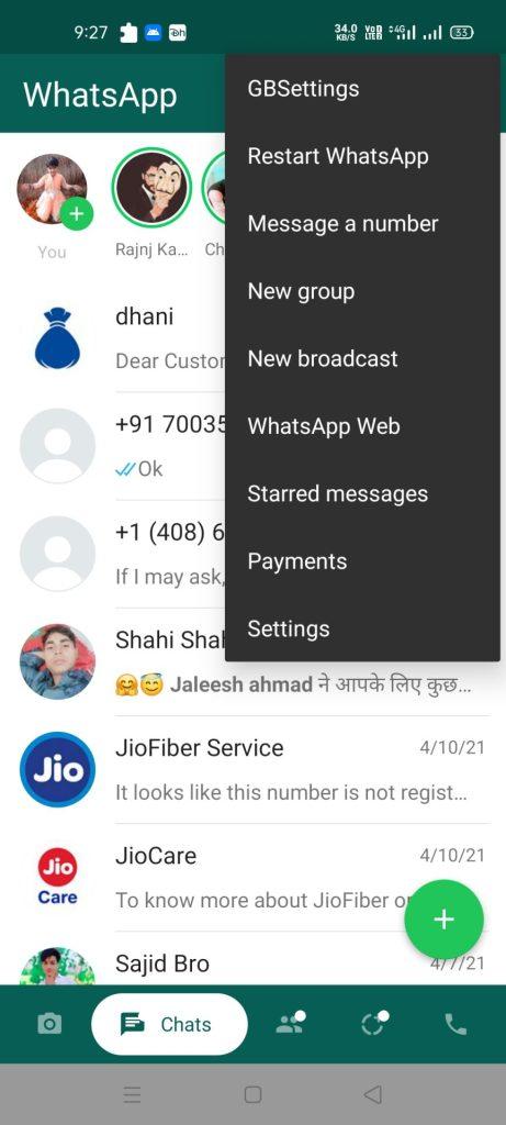 GBWhatsApp APK Download (WhatsApp Mod APK) 2021