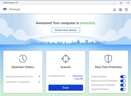 Malwarebytes Premium Key 2021