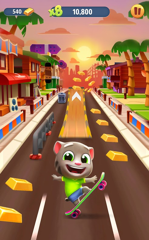 Talking Tom Gold Run Unlimited Coins and Diamonds