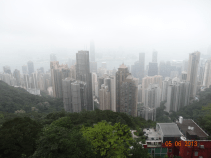 Foggy HK view