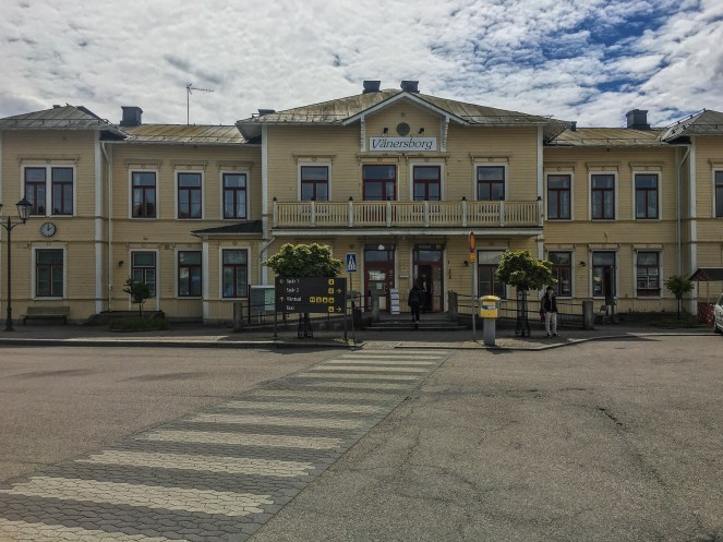 Vänersborg train station.