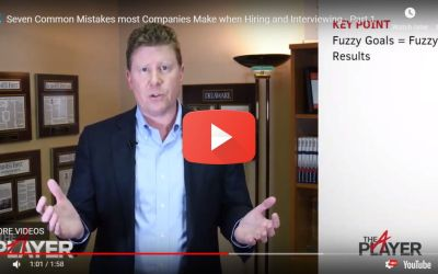 Seven Common Mistakes most Companies Make when Hiring and Interviewing