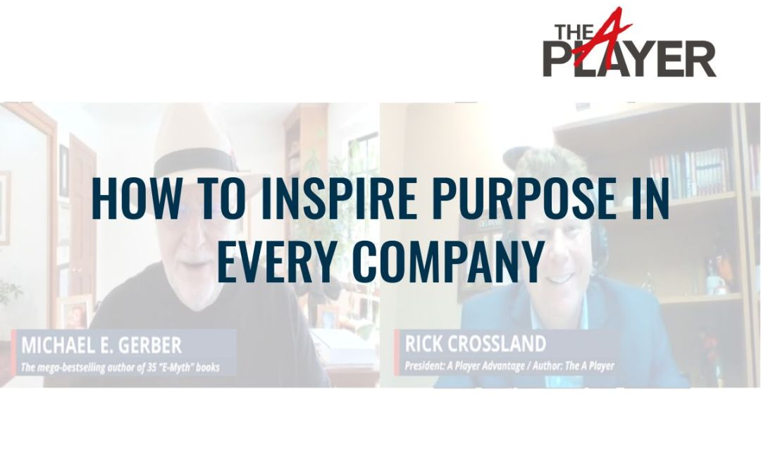 How to Inspire Purpose in every Company