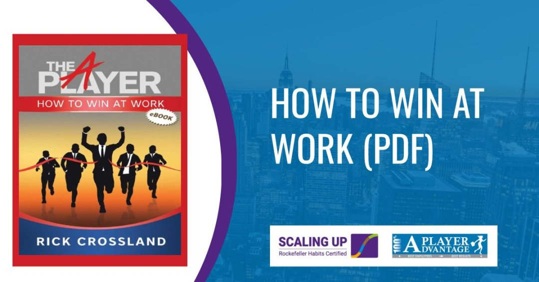 How to win at work book cover