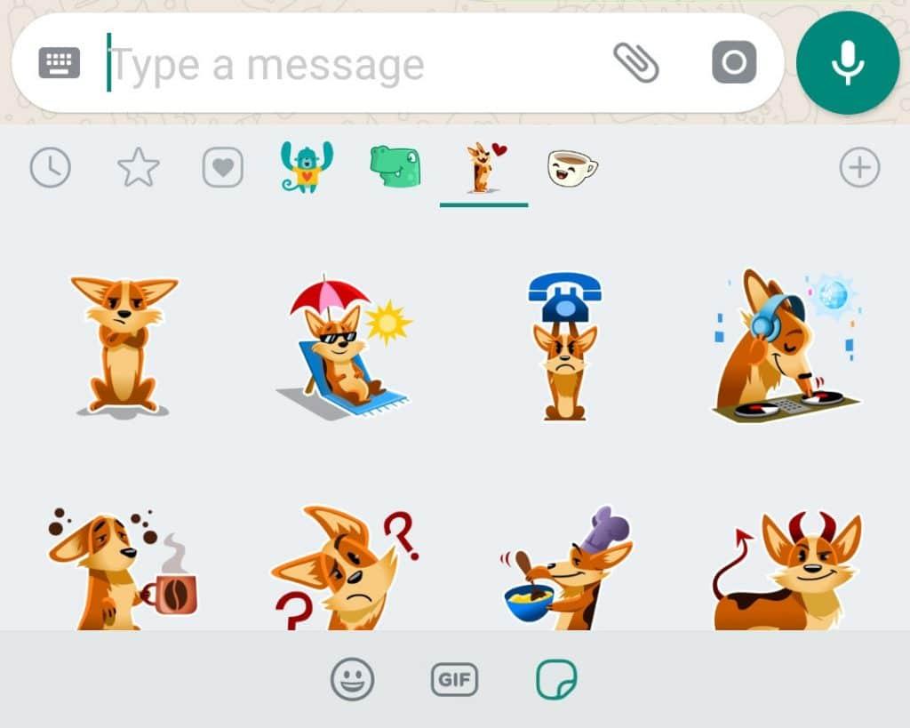 WhatsApp finalmente comienza a desplegar Stickers