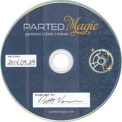 CD PartedMagic