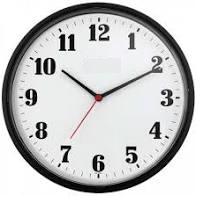 Imagem de um relógio