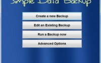 s simple data backup