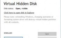 s virtual hidden disk