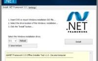 s dotnet framework   offline installer tool