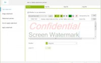 s screen watermark