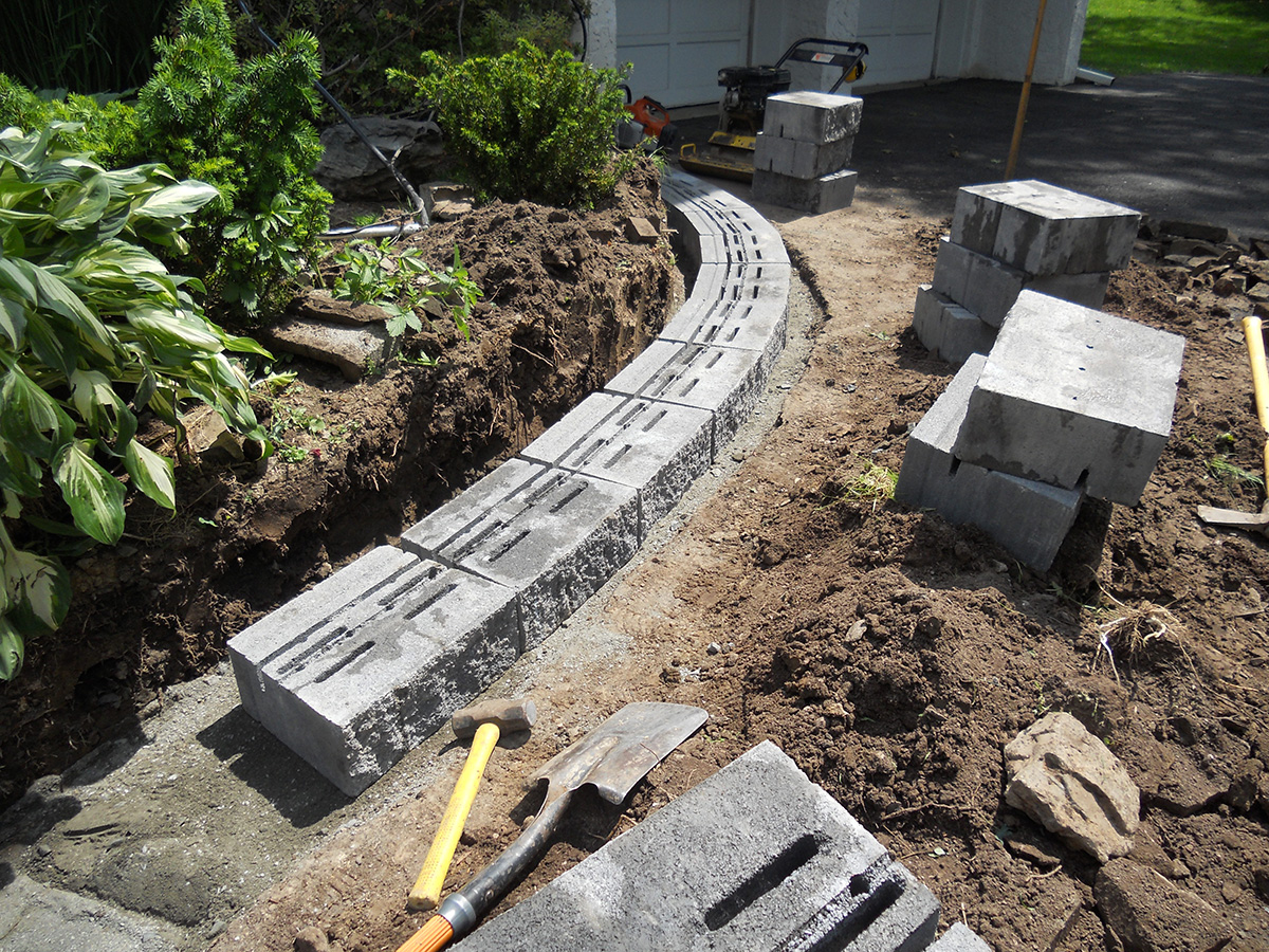 Retaining Walls  almost PERFECT Landscaping