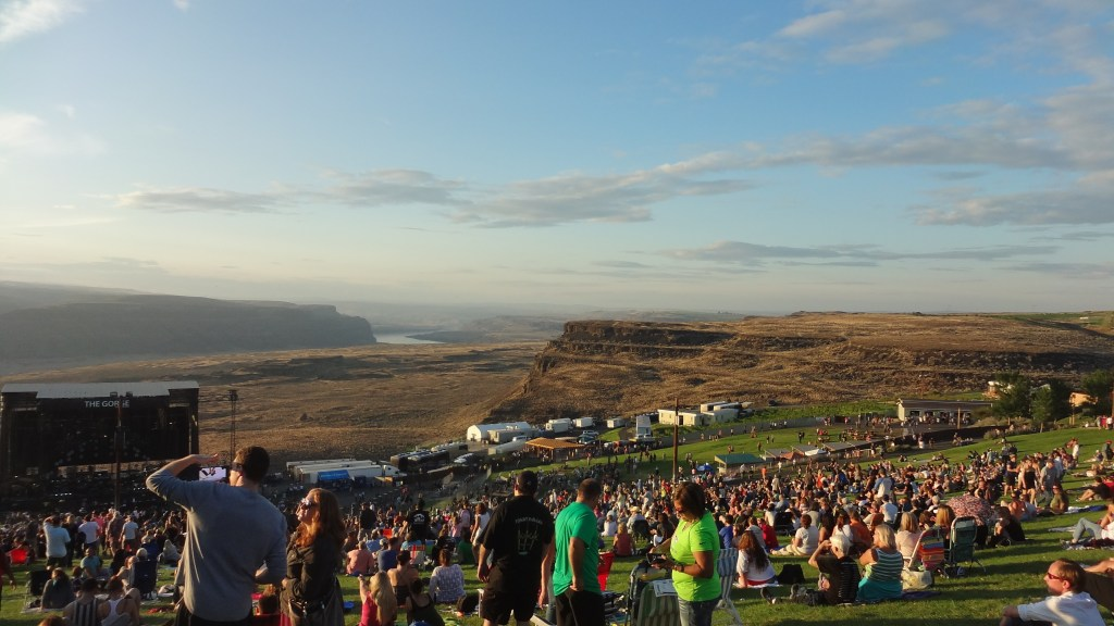 The Gorge Amphitheatre  Aplscrufs Music Blog