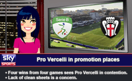 225: Pro Vercelli in promotion places