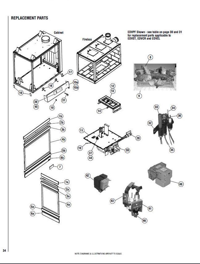 Quadra Fire Pellet Stove Parts Diagram, Quadra, Free