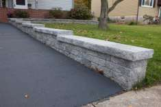 stone block wall in Ephrata, PA