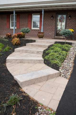 permeable stairs and walkway in Bowmansville pa